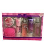 Bodycology PRETTY IN PARIS Gift Set Body Cream Mist Shimmer Sugar Scrub ... - $34.64