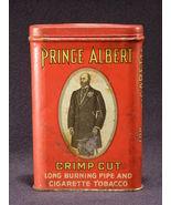 Vintage Prince Albert Tobacco Tin With Red Lid - (sku#1656) - $12.30