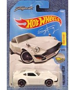 2017 Hot Wheels #76 Factory Fresh 3/10 CUSTOM DATSUN 240Z White w/Black ... - $6.55