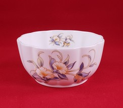 """Vintage AYNSLEY """"Just Orchids"""" Fine English Bone China Small Bowl 3 7/8""""dia. - $23.75"""