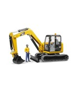 Bruder CAT Mini Excavator with Operator, Made in Germany - $96.99