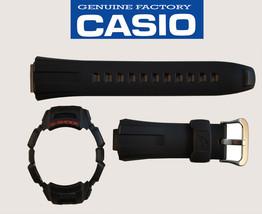 Genuine Casio G-Shock Watch Band STRAP & Bezel Black GW-300 GW-301 GW-330 - $31.25