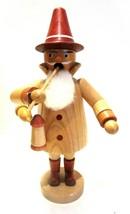 German Democratic Republic Vintage Wooden Incense Smoker Doll Great Cond... - $24.99