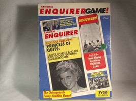 1991 THE NATIONAL ENQUIRER GAME WITH ORIGINAL BOX TYCO TOYS INDUSTRIES V... - $15.51