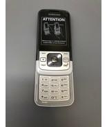 Samsung SPH M330 - White Silver (Sprint) Cellular Phone Slide - $24.25