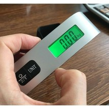 Stainless Steel Rubber Travel Luggage Scale Portable Accessory Multi-fun... - $18.69