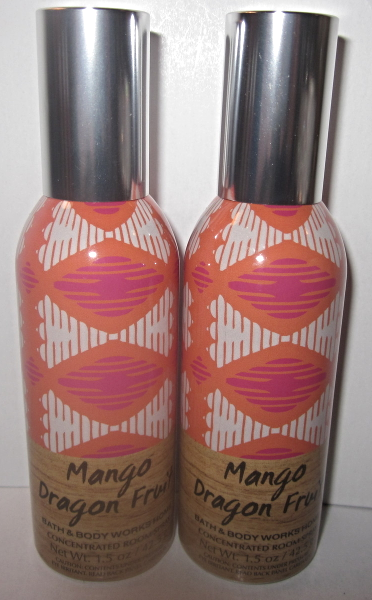 Primary image for 2 sprays Bath & Body Works Room Spray 1.5 oz  Mango Dragon Fruit