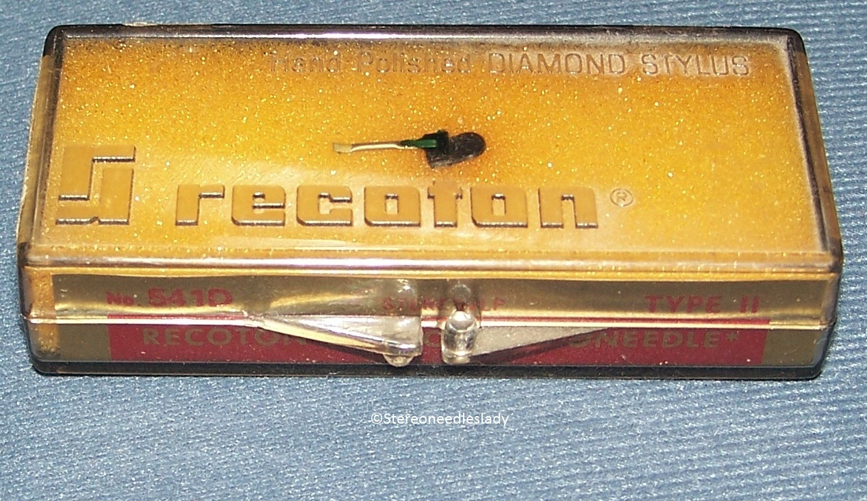 Recoton 541D for Euphonics 161 for EUPHONICS E-1 E-2 U-1 U-2 CARTRIDGE NEEDLE