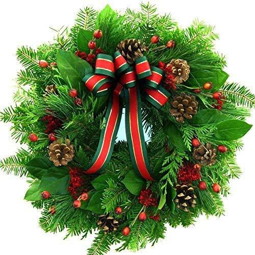 HOLIDAY WREATH FRAGRANCE OIL - 2 LB - FOR CANDLE & SOAP MAKING BY VIRGINIA CANDL