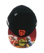 NEW ERA 59FIFTY MLB San Francisco Giants Boba Fett Cap sz 7 3/4 Black - $33.99