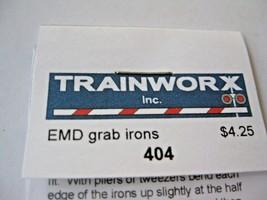 Trainworx Stock # 404 EMD Grabirons N-Scale image 2