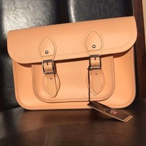 "The Cambridge Satchel Company Classic 11"" Satchel in Peony Peach - $128.25"