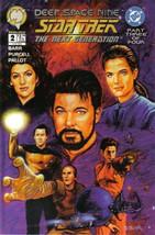 Star Trek: Deep Space Nine/The Next Generation Comic Book #2 Malibu 1995... - $3.99