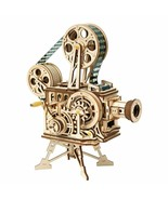 ROKR Wooden Vitascope DIY Vintage Mechanical Classic Model Movie Project... - $43.53