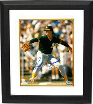 Rick Honeycutt signed Oakland Athletics 8x10 Photo Custom Framed (green ... - $69.00