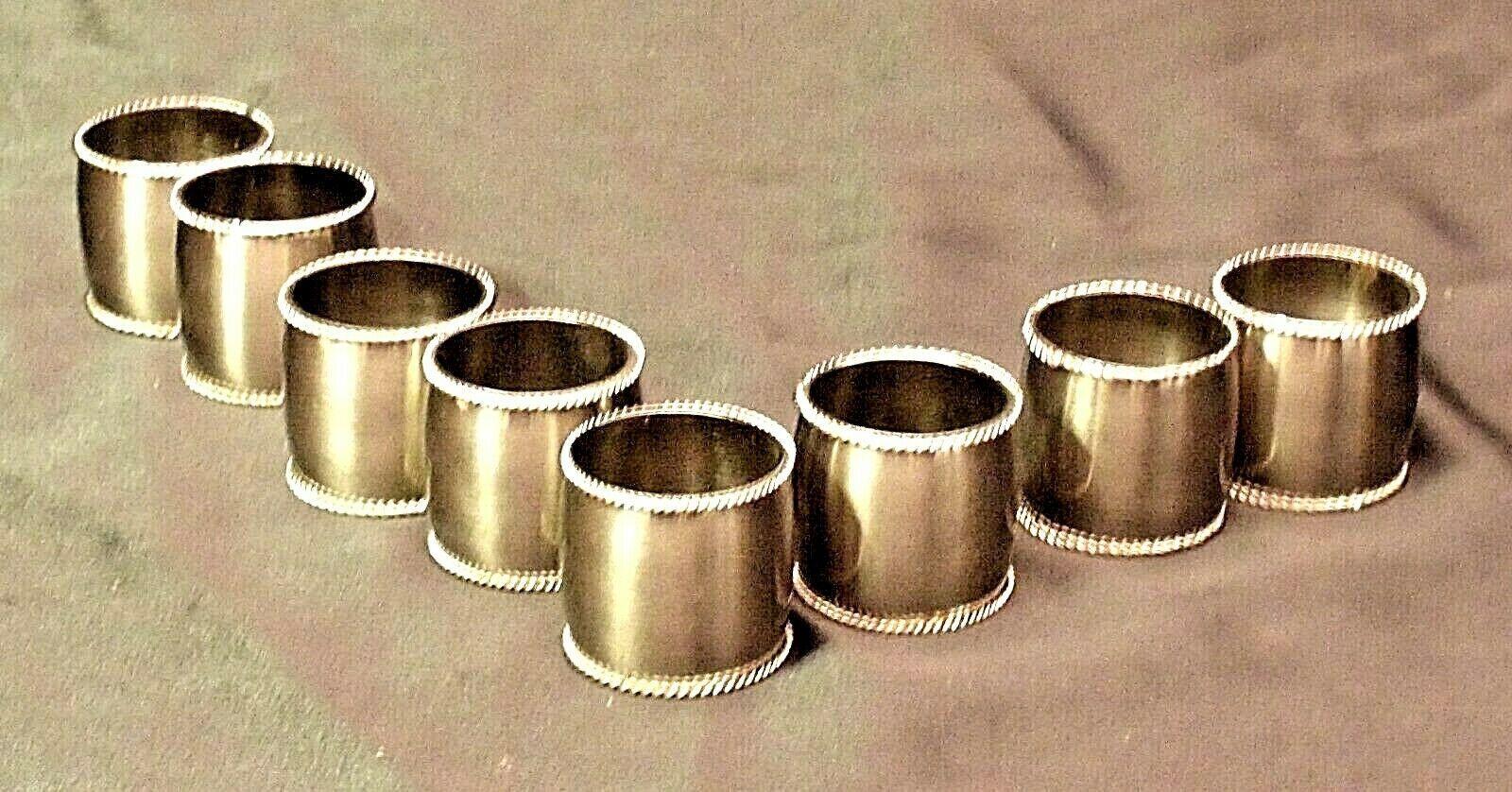 Metal Napkin Holders (8) AA20-CD0062 Vintage