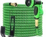 100FT Expandable Garden Hose - Gardening Flexible Hose with Free 10 Function