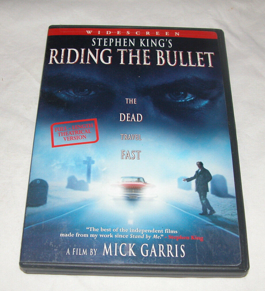 Primary image for Stephen Kings Riding the Bullet DVD, 2005, Horror, U.S.A