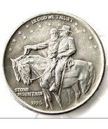 1925 STONE MOUNTAIN COMMEMORATIVE HALF DOLLAR CASTED COIN Robert E Lee Stonewall - $11.99