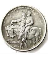 1925 STONE MOUNTAIN COMMEMORATIVE HALF DOLLAR CASTED COIN Robert E Lee Stonewall - $11.99