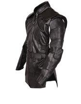 Hawkeye Avengers Endgame Clint Barton Costume Jeremy Renner Black Leather Jacket image 2