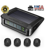 ZEEPIN C220 Tire Pressure Monitoring System Solar TPMS with 4 External S... - $44.99