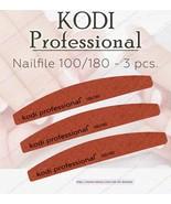 NEW Kodi professional Nailfile Half-Brown 100/180 - $16.83