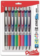 EnerGel RTX Retractable Liquid Gel Pen, Medium Line, Metal Tip, Assorted... - $5.16+