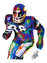 "Alan Page, Minnesota Vikings, Defensive Tackle, Football, 18""x24"" Art Print - $19.99"