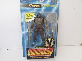 """MCFARLANE TOYS 13105 YOUNGBLOOD ACTION FIGURE CRYPT   6.5""""  NEW  L132 - $12.69"""