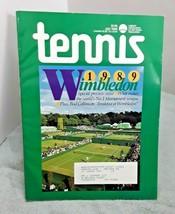 Tennis Magazine July 1989 Wimbledon Issue - $11.88