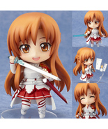 4'' Anime Sword Art Online SAO Asuna Cute Figure Toys Model PVC Collecti... - $17.00