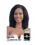 Model Model Nude Fresh Wet & Wave 100% Human Weave Hair - BRIGHT CURL 3PCS - $24.99