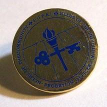 Probation Officer Lapel Pin - Vintage Professional Association Law Enfor... - $19.79