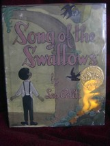 SONG OF THE SWALLOWS by Leo Politi (1950, Hardback) with half page painting - $98.00