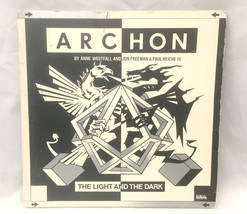 Archon Vintage Computer Game Floppy Disk EA Gatefold Case UNTESTED Commo... - $39.59