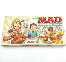 Vintage The Mad Magazine Board Game by Parker Brothers 1979 Complete - $39.59