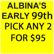 SPECIAL ALBINA'S BDAY SPECIAL DEAL PICK ANY 2 FOR $95 BEST OFFERS MAGICK - Freebie