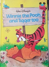 Walt Disney's Wonderful World Of Reading Winnie The Pooh and Tigger Too - $8.74