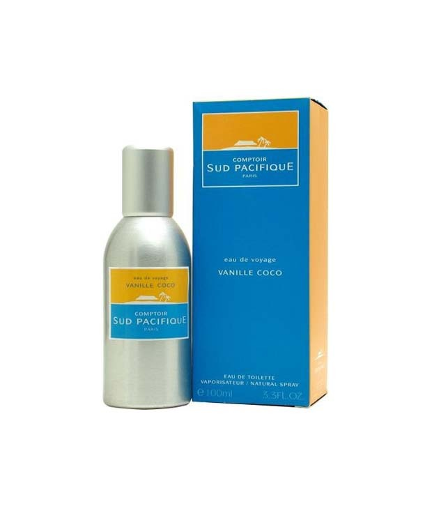 VANILLE COCO by Comptoir Sud Pacifique 5ml Travel Spray Coconut Heliotrope