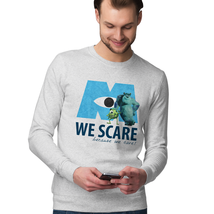 We Scare Because We Care Sulley And Mike Sweatshirt New - $28.49+