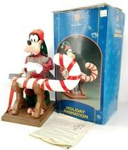 "Disney Santas Best Mickey Unlimited Holiday Animation 22"" Goofy 1996 Chr... - $467.46"