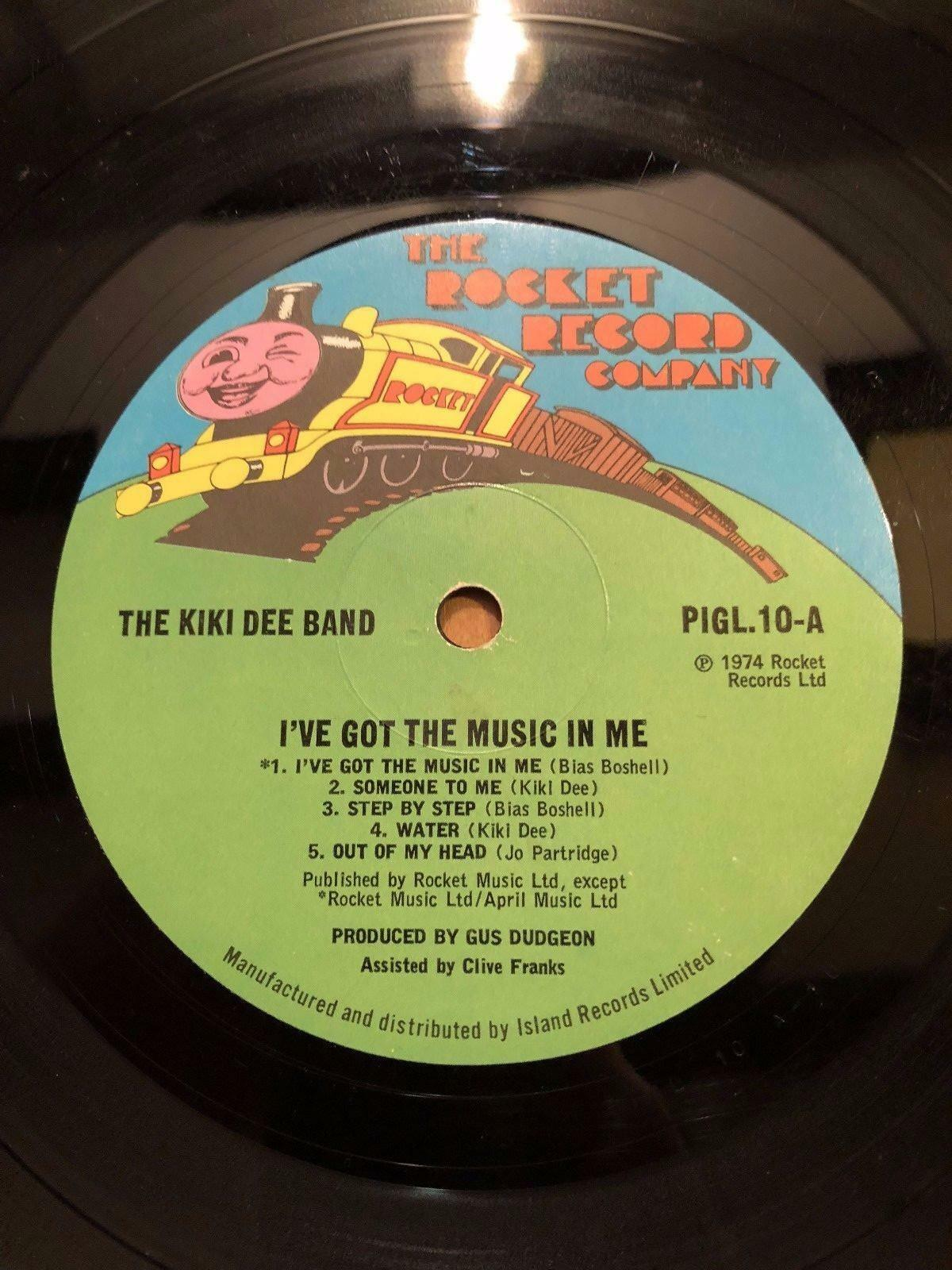 "1974 The Kiki Dee Band "" Ive Got The Music IN Me "" Vinyle LP Album Record"