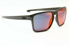 NEW OAKLEY SLIVER XL OO9341-08 GRAY AUTHENTIC SUNGLASSES OO9341 FRAME 57-18 - $64.84