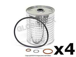 Mercedes w115 Oil Filter Kit Set Of 4 Hengst +1 Year Warranty - $46.85