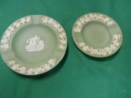 Great Wedgwood Jasperware...Two Ash Trays - $14.44
