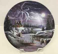 Bradford Exchange Vintage 1993 a Hidden World Rusty Rust Decorative Plate - £16.63 GBP