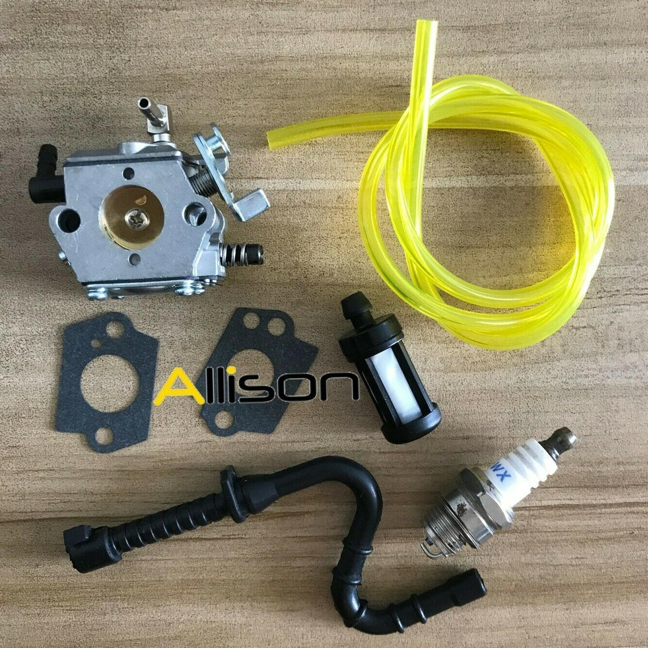Primary image for Carburetor & Fuel Line F Stihl 028 028AV 028 SUPER Walbro WT-16B Tillotson HU-40