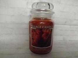 Village Candle Spiced Pumpkin Premium Scent 16 Oz 105 Hours Burn Time Ma... - $19.32