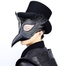 Steampunk Plague Doctor Mask Bird Beak Halloween Party Cosplay Masquerad... - £46.35 GBP